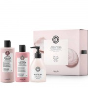 Maria Nila Luminous Colour Geschenkset - Shampoo 350 ml + Conditioner 300 ml +
