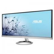 "Monitor Asus 29"", MX299Q, 2560x1080 mat, LCD LED, IPS, 5ms, 178/178º, HDMI, DVI-D, DP, Zvučnici, crna/srebrna, 36mj"
