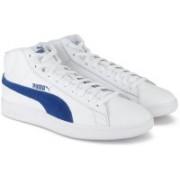 Puma Puma Smash v2 Mid L Sneakers For Men(White)