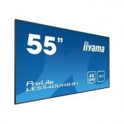 IIYAMA ProLite LE5540UHS-B1 Display Led 54,6'' Segnaletica Digitale Android 4K Ultra Hd Nero Opaco