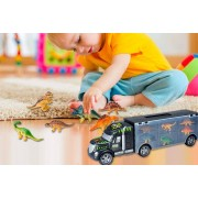ISKA Global Trading Limited t/a Wishwhooshoffers 2-in-1 Truck & Dinosaur Carry Case Toy