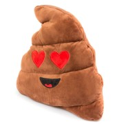 Perna Decorativa Stil Rahat Indragostit Emoji Maro XXL 50 CM Happy Face