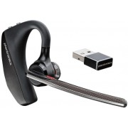 Casca Bluetooth Plantronics Voyager 5200UC, NFC, Multi-Point (Negru)
