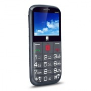 iBall Aasaan3 Dual SIM Specially for Senior Blind - Grey