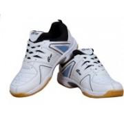 B-TUF INSPIRE Badminton Shoes For Men(White, Blue)