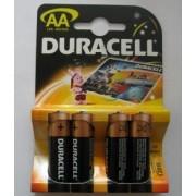 Комплект 4 броя алкални батерии AA 1.5V DURACELL