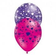 Latexballonger - Hjärtan 10-pack