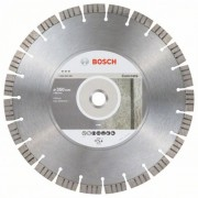 Диск диамантен за рязане Best for Concrete 350 x 25,40 x 3,2 x 15 mm, 2608603800, BOSCH