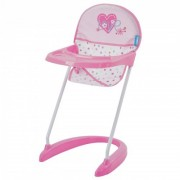 Scaun Masa Papusi Doll Hight Chair Love Heart