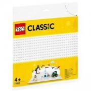 Строителна плочка Лeго Класик - Бял фундамент, LEGO Classic 11010