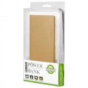 Maxy Power Bank Carica Batteria Slim Pack Di Emergenza 12000 Mah 2x Usb Universale Gold Per Modelli A Marchio Apple