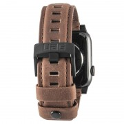 UAG Leather Apple Watch Series 5/4/3/2/1 Strap - 42mm, 44mm - Brown