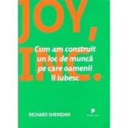 Joy Inc. Cum am construit un loc de munca pe care oamenii il iubesc