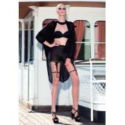 Trasparenze Prickiga strumpbyxor med förföriskt mönster i stockings-look Trimming cosmetic 3