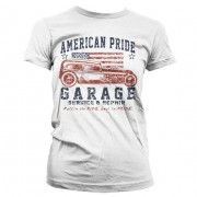 American Pride Garage Girly T-Shirt