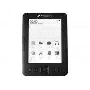 "Phoenix technologies Libro electronico ebook phoenix ereader 6"" tinta electronica / e-ink / front light / con luz / 4gb / 128ram / micro usb / negro"