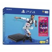 Consola Playstation 4 1TB + Fifa 19-Negro