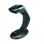 Баркод скенер Datalogic Heron HD3430, USB, стойка, черен