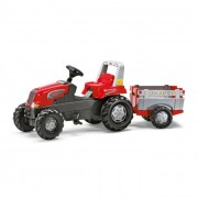 Rolly Junior pedálos traktor utánfutóval