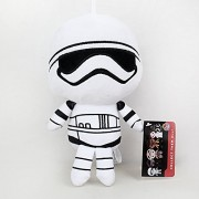 Star Wars Plush Doll Toys Darth Vader Kylo Ren Plush BB8 BB-9E BB-8 BB9E R2d2 Pelucia Leia Rey Storm trooper Stuffed Toy 22cm