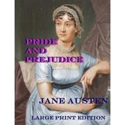 Pride and Prejudice: Low Tide Press Large Print Edition, Paperback/Jane Austen