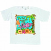 Hawaiian Summer Luau Party Island T-shirt Wearables, Fabric, XL