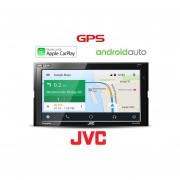 Pantalla Autoestéreo JVC KW-M730BT Apple Carplay Android Auto Bluetooth IPhone IPod