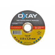 Disc OXAY debitat inox/metal 115X1 mm