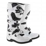 Alpinestars Stivali Moto Cross Tech 5 White Black