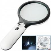 Handloep Leeslamp Met LED Verlichting - Hand Vergrootglas Loep Met Licht - Handloep voor slechtzienden