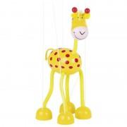 Marioneta Girafa Goki, lemn, 3 ani+