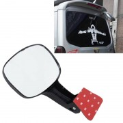 Auto Rear Seat Rearview spiegel terug rij achteruitkijkspiegel kinderen waargenomen interieur Mirror(Black)