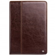 Qialino - iPad Pro 10.5 Hoes - Book Case Cabello Donker Bruin
