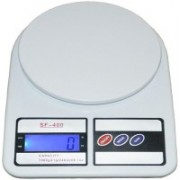 Unique Gadget Shopper52 Electronic Digital Kitchen Weighing Scale 10kg/1Kg For Kitchen Use Weighing Scale(White)