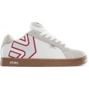 Etnies Fader Skate Skor (White/Tan)