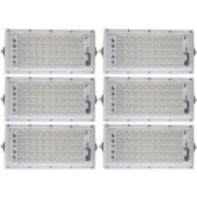 industrial unit Metal 50 Watt 220-240V Waterproof Landscape IP65 Perfect Power LED Flood Light (White)-Pack Of 6