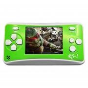 RS - 1 Retro Videoconsola Portatil De 8 Bits, Color Verdadero Pantalla LCD De 2,5 Pulgadas, Construido En 152 Tipo Juegos (verde)