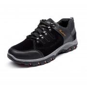 Zapatos Deportivos Hombre Al Aire Libre Alpinismo Zapatos Para Correr -Negro