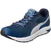 Puma Men's Sequence v2 DP Blue Wing Teal Puma Silver Blue Heaven Running Shoes - 8 UK/India (42 EU)
