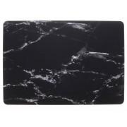 Zwart marmer design hardshell voor de MacBook Pro Retina 15.4 inch Touch Bar