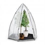 Waldbeck Greenshelter S fóliasátor, teleltető sátor, 130x150cm, acél csövek Ø25mm, PVC (GQR2-Greenshelter-S)