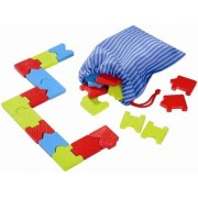 HABA Taktyczne Domino - drewniane domino, układanka 27 el., 4 lata +,