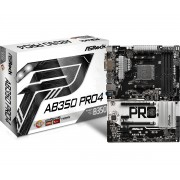 Asrock AB350 Pro4 AMD B350 Socket AM4 ATX motherboard