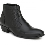 Delize Black Formal Boots For Men's