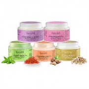 Sattvik Organics Refresh Revive Kit Removes Dead Skin Gives a Firm Fresh Look Enhances Complexion