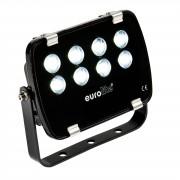 EuroLite LED IP FL-8 6400K 30° IP 56, 8x1W Garden Light