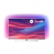 "Smart TV Philips 50PUS7304 50"" 4K Ultra HD LED WiFi Argintiu"