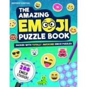 The Amazing Emoji Puzzle Book: Packed with Totally Awesome Emoji Puzzles and 200 Emoji Stickers, Paperback