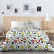 Oh & ... Housse de couette Savea multicolore - 200x200 cm
