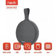 Boxa portabila wireless, Havit SK591BT, 3W, bluetooth, microSD, pentru exterior, Negru